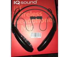 Audifonos Bluetooth Americanos Iq Sound