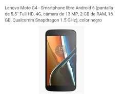 Motorola G4 con Todos Los Accesorios