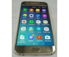 Samsung S6 Homologado Lte 32 Gb. Casi Nu