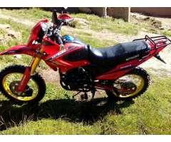 Vendo Moto Deportiva Modelo Mitsuco 7000