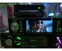 Radio con Pantalla Bluetooth Usb Aux