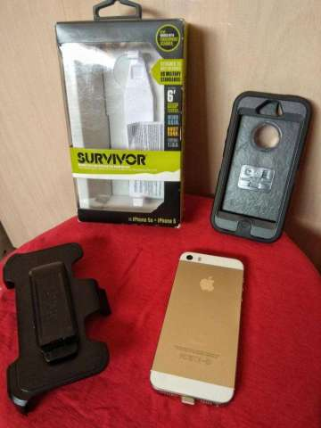 iPhone 5s Gold de 16 Gb Impecable 10/10 !!