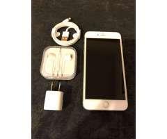 iPhone 6S Plus Silver 64Gb Como Nuevo