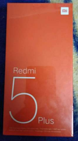 Xiaomi Redmi 5 Plus de 64 Rom Y 4 Ram
