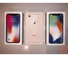 APPLE iPhone 8 / X 8 PLUS  IN STOCK  READY TO SHIP  FACTORY UNLOCKED