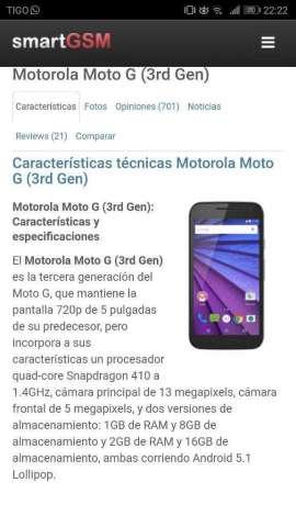 Vendo Motorola Tercera Generación