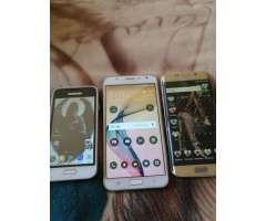 en Venta 3 Cels Samsung