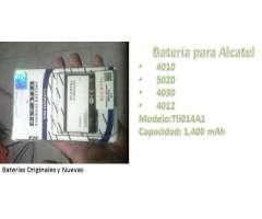Batería Alcatel Tli014a1 a 30 Boli si recoje FERIA BARRIO LINDO 4 ANILLO WSP 67784972