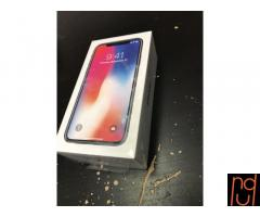 Iphone X 256GB Whats app: +18573023156