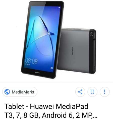 Huawei Tablet Telefono Nueva