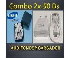 Ofertas Audifonos Y Cargadores Samsung