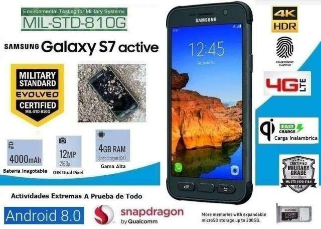 Samsung S7 Active Indestructible y Super Potente