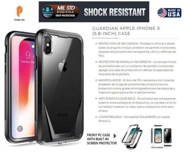 Case 360 Americano para Iphone X