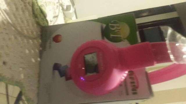 Auricular CAFINI Pantalla led,Bluetooth,RECIBE llamadas.