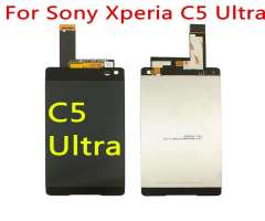 Pantalla Lcd Sony Xperia C5 Ultra color Negro y Blanco.