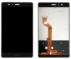 Pantalla Huawei P9 color Negro, Blanco y Dorado.