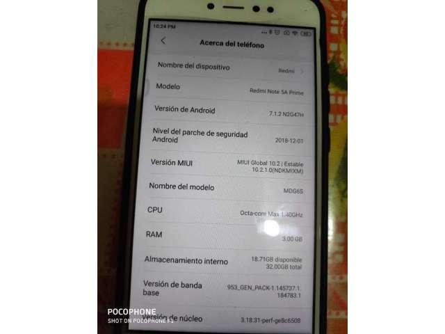 Xiaomi Note A5 Prime