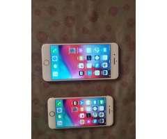 Iphone 7 plus de 128 y Iphone 8 de 64, libres de todo