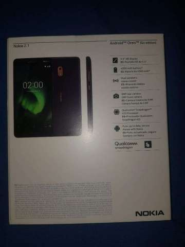 Nokia 2.1 Solo Linea Tigo Nuevo en Caja
