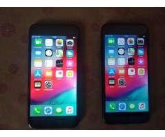 Iphone 8 de 64 gigas y iphone 7 de 256, libre de todo