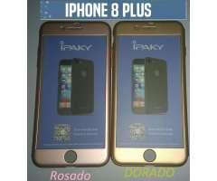 Fundas iPhone 8 Plus 360 Grados de Silicona wasap 60006847