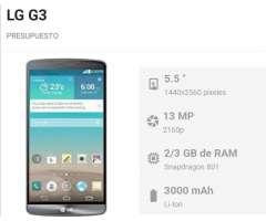 Celular Lg G3 en Buen Estado