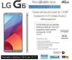 LG G6 PLatinum Americano