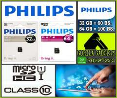 Micro Sd 32gb Y 64gb Philips
