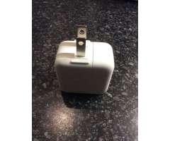Cargador para iPad, iPhone, iPod 5.2V 2.4A 12W Original, solo cargador. Apple