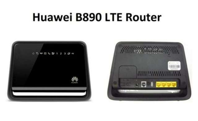 Router Huawei 4g Lte con Chip Gsm