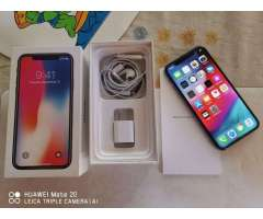 iPhone X 256gb Completo