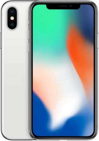 Iphone x 256 gb plateado - reacondicionado a nuevo en usa