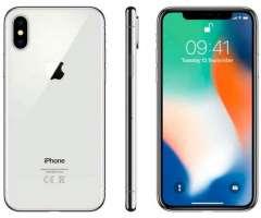 Iphone x 256 gb plateado - reacondicionado a nuevo en usa