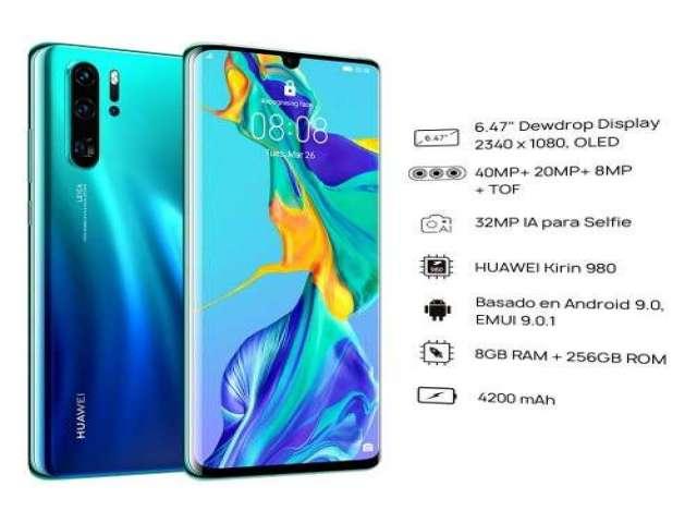 Huawei p30 pro de 8 gb de ram y 256 memoria interna
