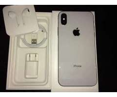 Vendo iphone x de 256gb
