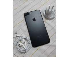 Iphone 7 plus de 128gb. black mate